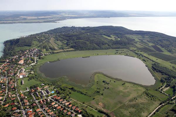 Tihanyi Belső tó a 1 Way Ticket Run helyszíne