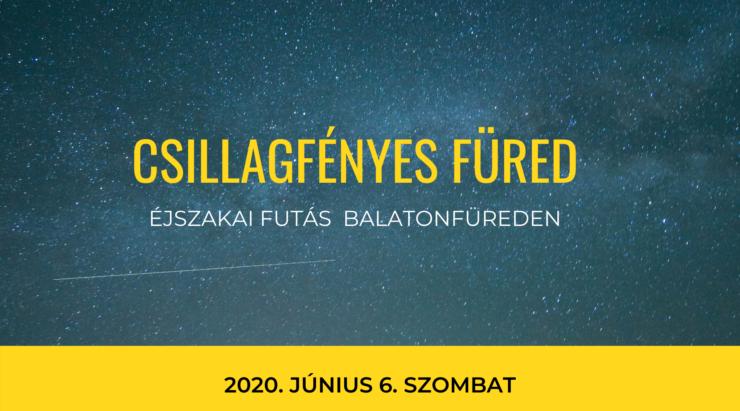 Csillagfényes Füred 2020 versenyadatok
