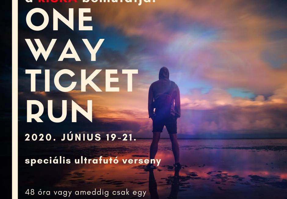 RISKA One Way Ticket Run versenyadatok