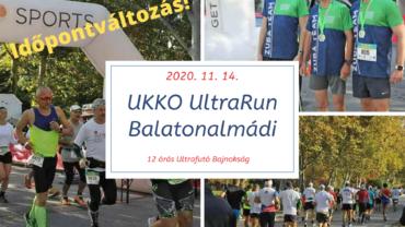 BUFF és UKKO Ultra Run időpontváltozás