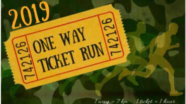 One Way Ticket Run – English