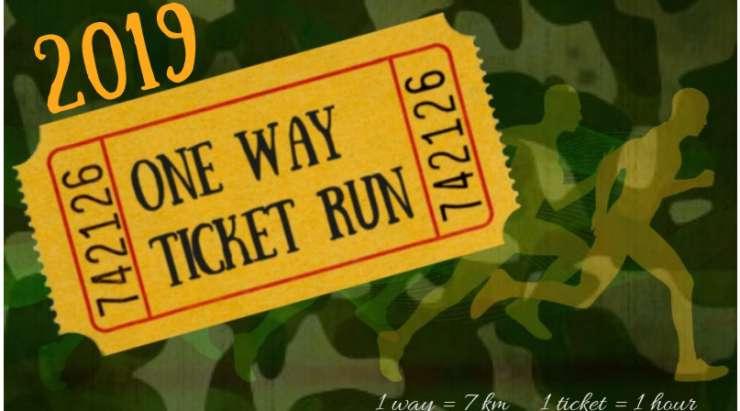 One Way Ticket Run – English