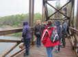 A Szentkirályszabadjai nyugdíjasok a Kis-Balatonhoz túráztak