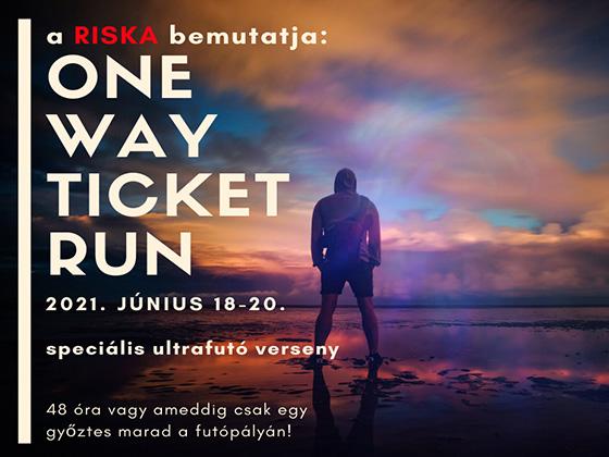 3.RISKA ONE WAY TICKET RUN